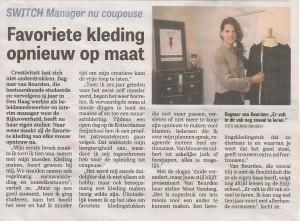 Coupeuse Utrecht Telegraaf Switch